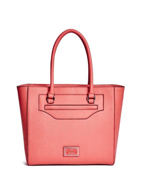 Dámská kabelka Guess Daly Saffiano- červená - Guess- kabelky a ... a7bf4ca9040