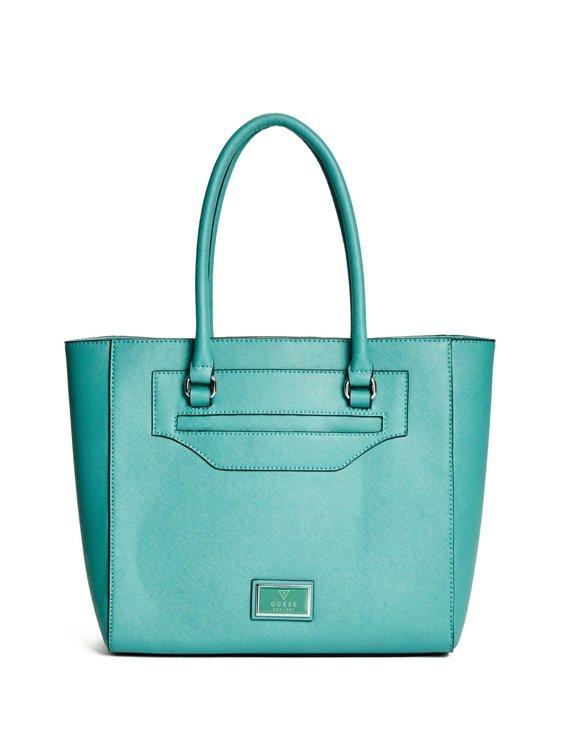 Dámská kabelka Guess Daly Saffiano- zelená - Guess- kabelky a ... 9d08ca2d921
