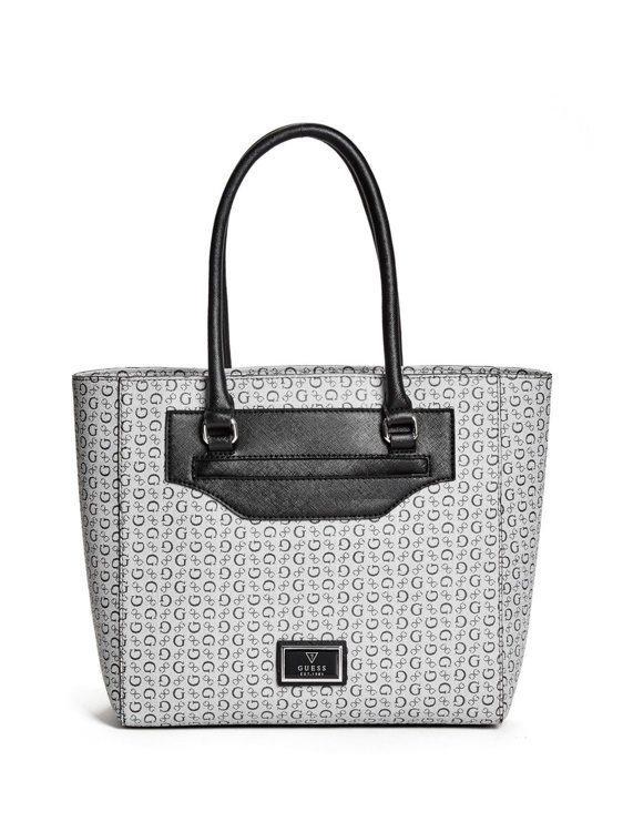 ec33535c0e14 Dámská kabelka Guess Daly Saffiano logo- černá - Guess- kabelky a ...