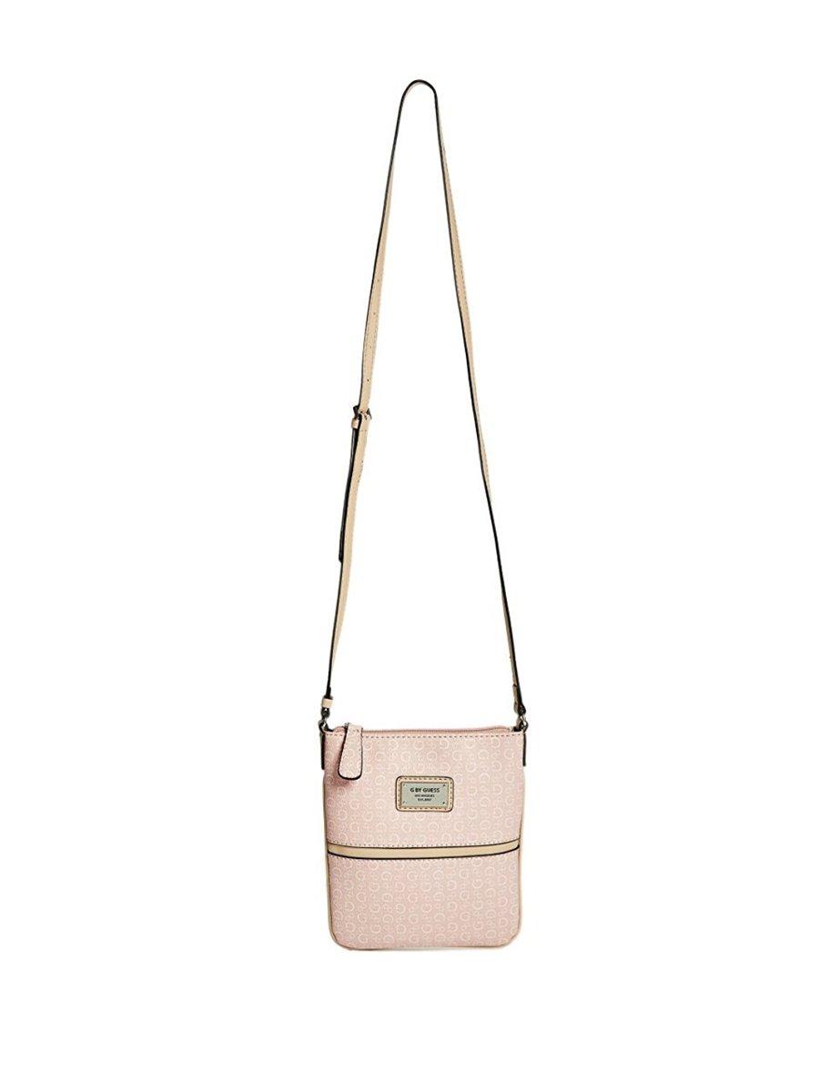121d41691a Luxusní kabelka Guess Robin Logo - pudrově růžová - Guess- kabelky a ...