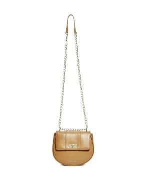 Luxusní dámská crossbody kabelka Guess Estella Saddle- hnědá f2484a4f930